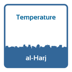 Temperature - al-Harj (Saudi Arabia)