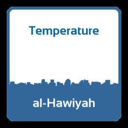 Temperature - al-Hawiyah (Saudi Arabia)