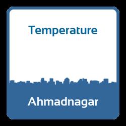 Temperature - Ahmadnagar (India)