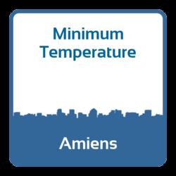 Minimum temperature - Amiens (France)