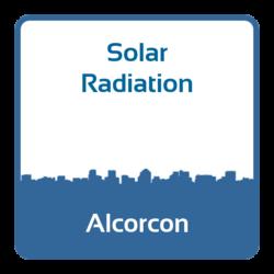 Solar radiation - Alcorcon (Spain)