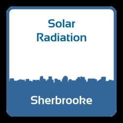 Solar radiation - Sherbrooke (Canada)