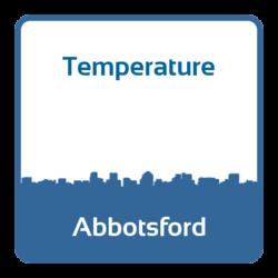 Temperature - Abbotsford (Canada)